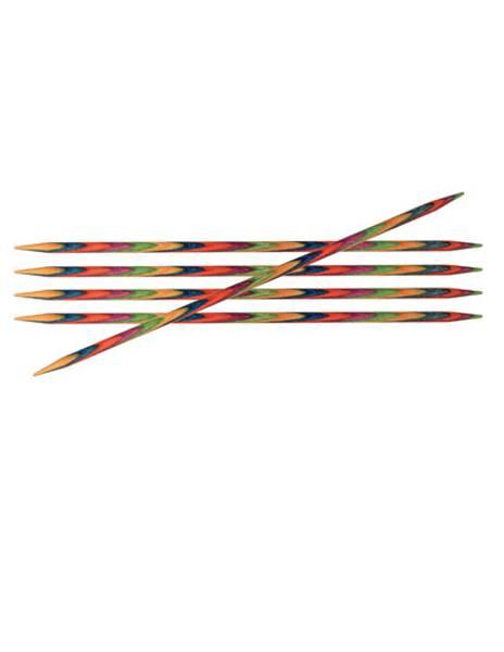KnitPro bjørk 20 cm Strømpepinner