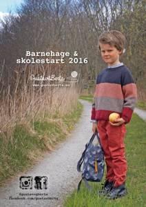 Bilde av Barnehage og skolestart  2016