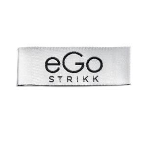 Bilde av Symerke Egostrikk hvit/svart