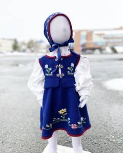 Bilde av Festdrakt fra Lofoten Baby