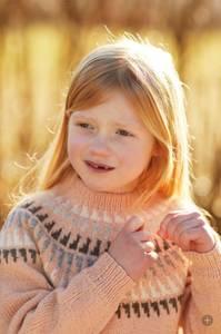 Bilde av 336-1 Spiret Genser Barn