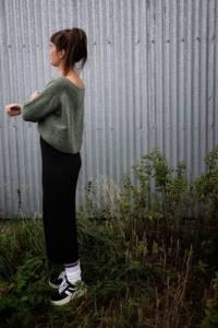 Bilde av Cropped Wester Sweater
