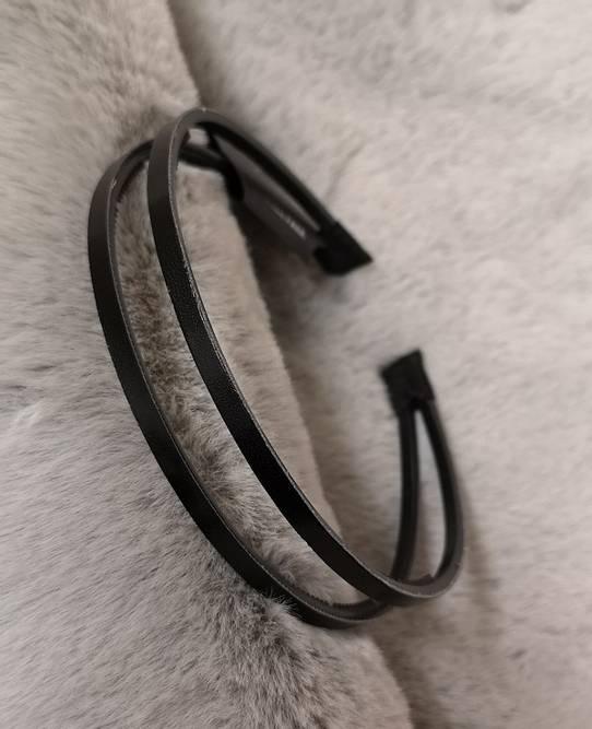 Bilde av Dobbel hårbøyle sort