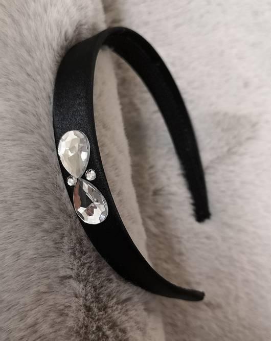 Bilde av Hårbøyler sort