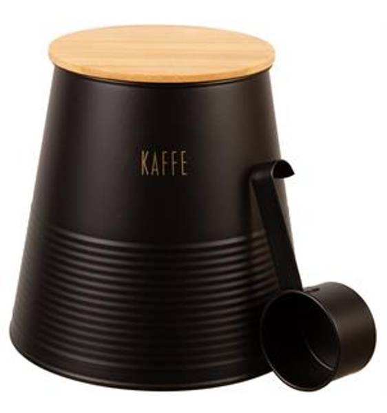 Bilde av Boks kaffe sort metall