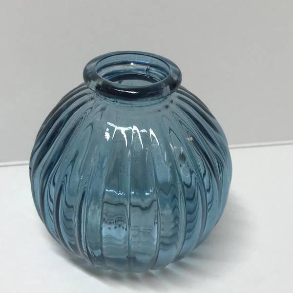 Bilde av Mini vase Round Blue