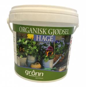 Bilde av Organisk gjødsel - Hage - 2,5 liter