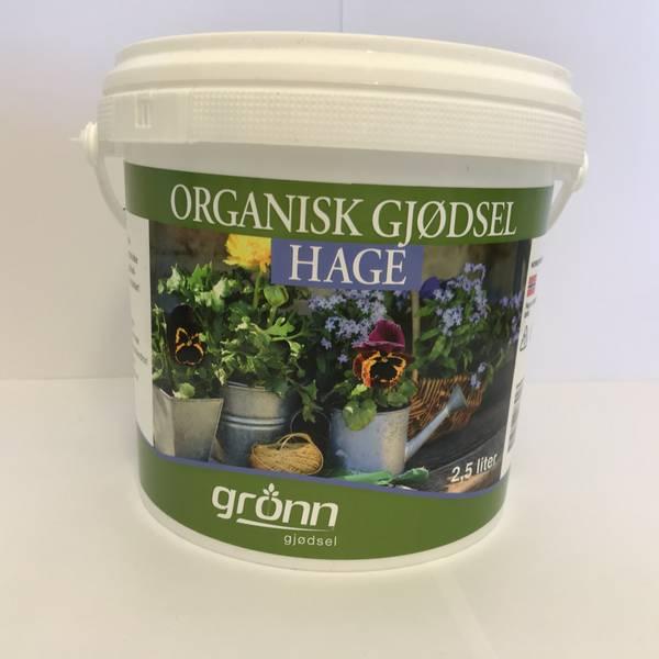Organisk gjødsel - Hage - 2,5 liter
