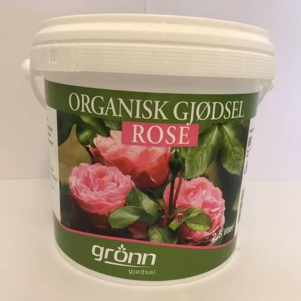 Organisk gjødsel - Rose - 2,5 liter