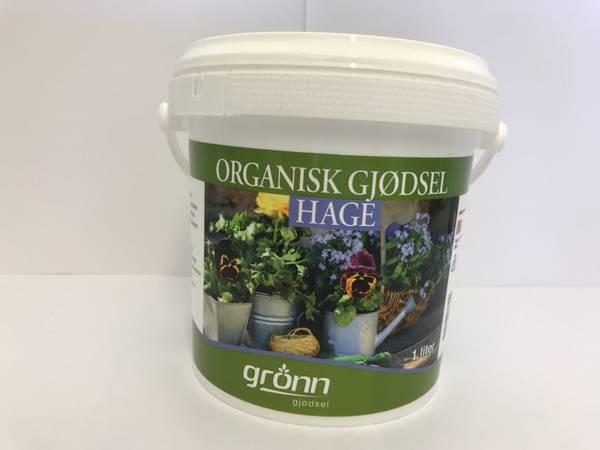 Organisk gjødsel - Hage - 1 liter