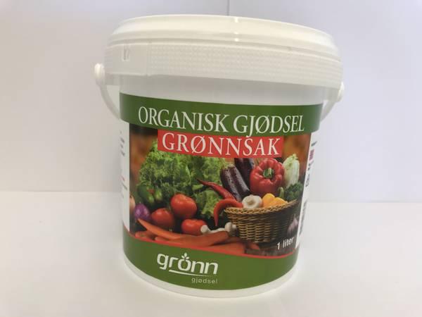 Organisk gjødsel - Grønnsak - 1 liter