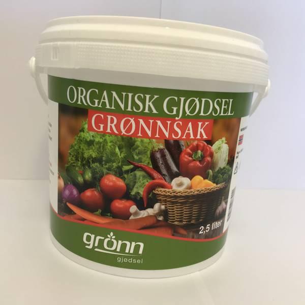 Organisk gjødsel - Grønnsak - 2,5 liter