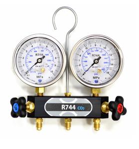 Bilde av Servicemanometer 2veis CO2 (R744)