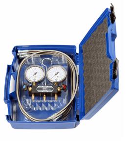 Bilde av Servicemanometer 2veis CO2(R744)  m/koffert og 150mm slanger