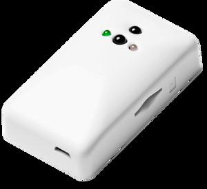 Bilde av GSM fjernstyring for varmepumpe.