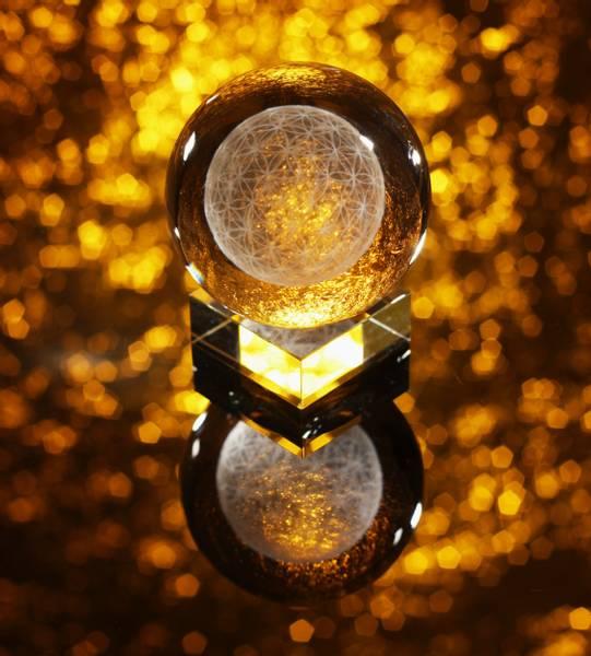 Bilde av Flower of Life Krystallkule