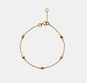 Bilde av Maanesten Lava bracelet gold