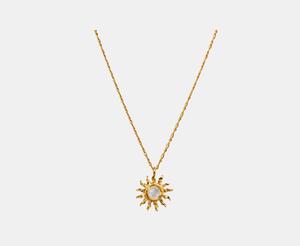 Bilde av Maanesten Dawn necklace gold
