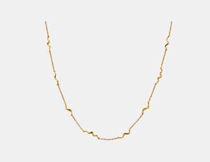 Bilde av Maanesten Unda necklace gold