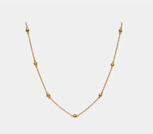 Bilde av Maanesten Lava necklace gold