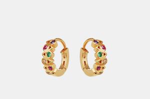 Bilde av Maanesten Dara earrings gold