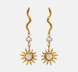 Bilde av Maanesten Dawn earrings gold
