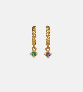 Bilde av Maanesten Herle earrings gold