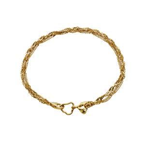 Bilde av Maanesten Canna bracelet gold