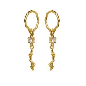 Bilde av Maanesten Como earrings gold