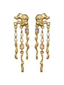 Bilde av Maanesten Jelly earrings gold