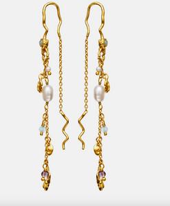 Bilde av Maanesten Poppy earrings gold