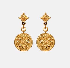 Bilde av Maanesten Olli earrings gold