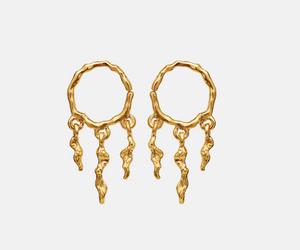 Bilde av Maanesten Mira earrings gold
