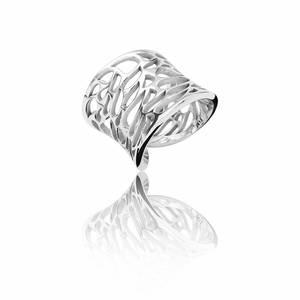 Bilde av noën Ring Rhodium Plated