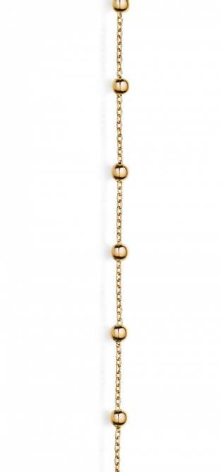 Bilde av Gull armband, kuler