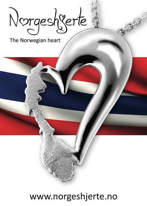 Bilde av Norges hjerte