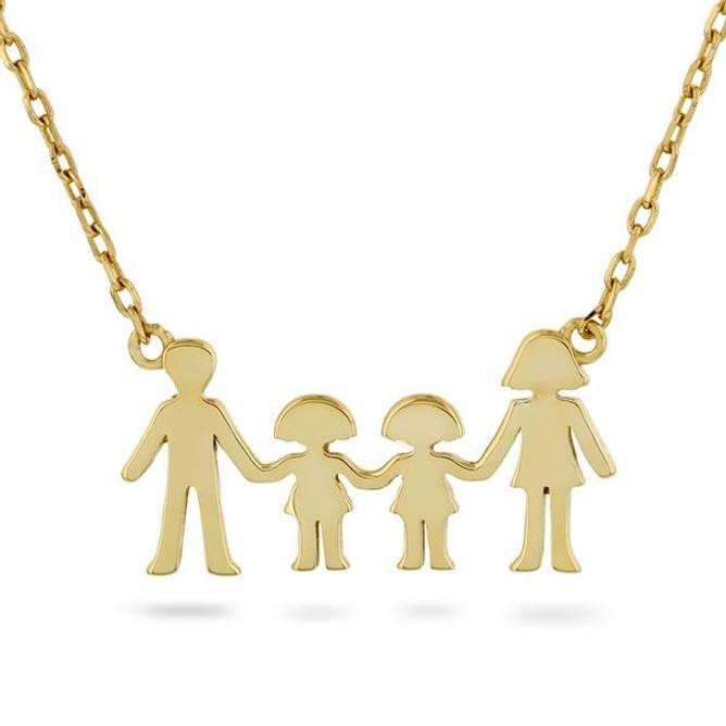 Bilde av Familie smykke, 2 jenter