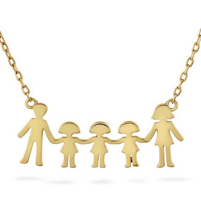 Bilde av Familie smykke, 3 jenter