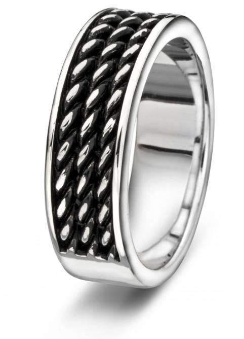 Bilde av Sølv ring med mønster