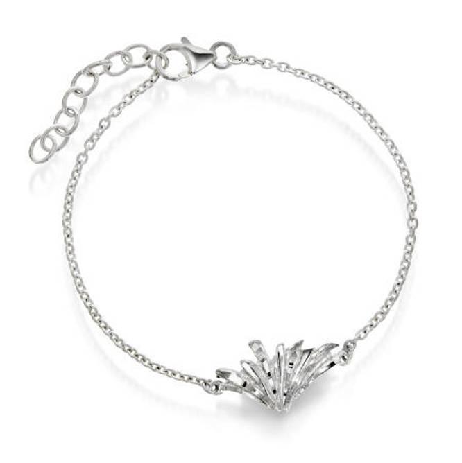 Bilde av Armbånd i sølv nordlys