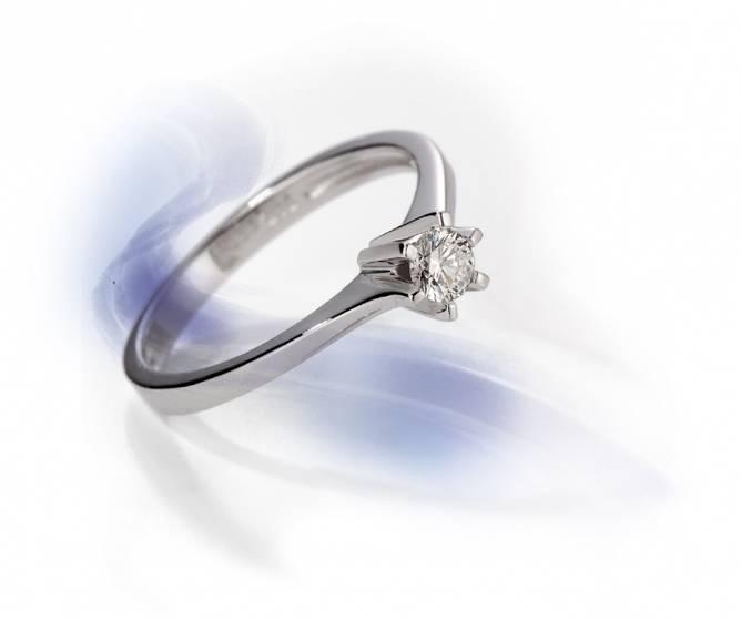 Bilde av Enstens ring 0,20ct tw/si