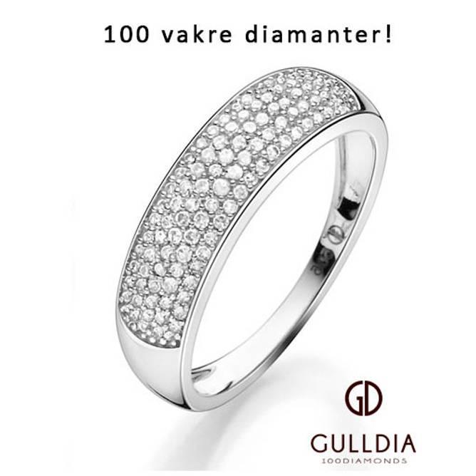 Bilde av GD100 Diamonds Bardot ring