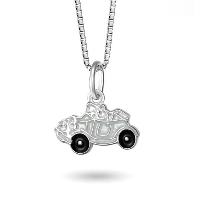 Bilde av Hvitt bil smykke