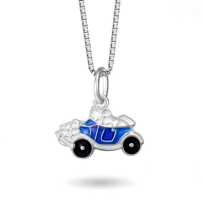 Bilde av Blå bil smykke