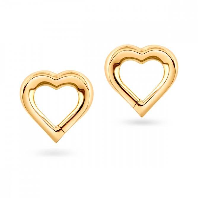 Bilde av Gull ørepynt, Hjerte