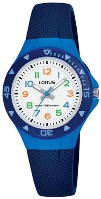 Bilde av Lorus barneklokke (blå)