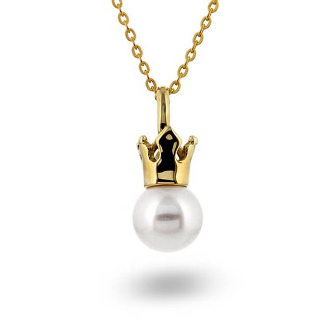 Bilde av Gullsmykke med perle