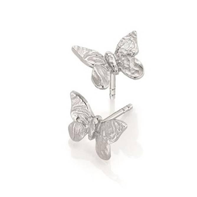 Bilde av Sommerfugl ørepynt, sølv