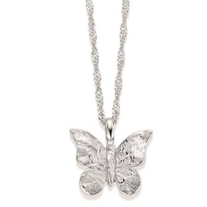 Bilde av Sommerfugl smykke, sølv