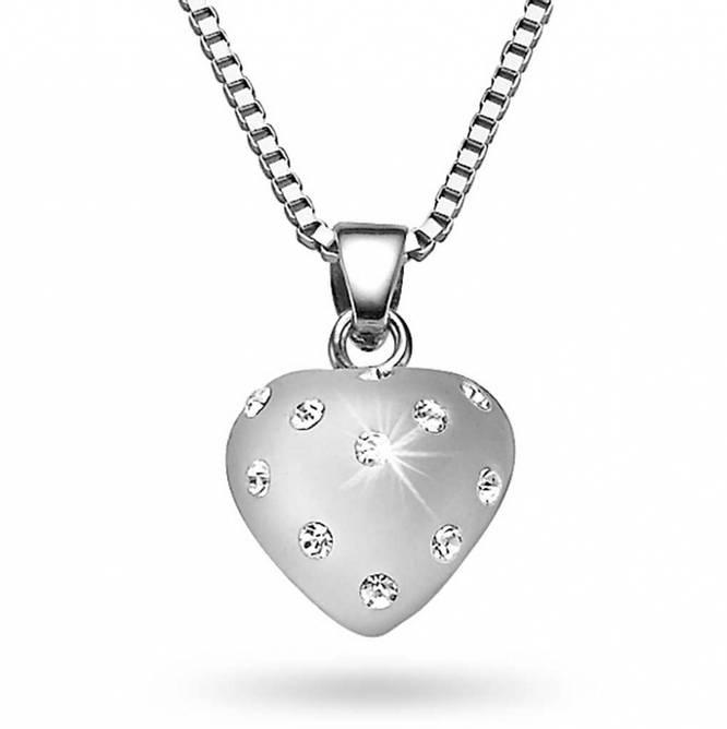 Bilde av Smykke i sølv med krystaller,